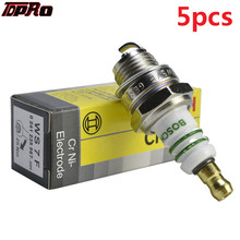 TDPRO 5pcs Spark Plug Fits Trimmer Mower Pit Bike Accessory ALL Stihl Chainsaws Lawn Moto Moped For Most Honda Pitbike