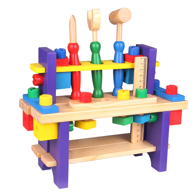 Montessori baby toys wooden simulation table puzzle game children education boy gift