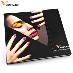 Image 3 - Venalisa KIT de Gel de Gel professionnel pour Nail Art, 60 couleurs, vernis de Base/dessus, acrylique, tenue longue durée, #61508