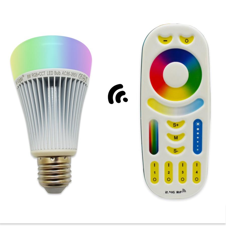 RGBWW 8W LED BULB1