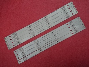 Image 1 - 新 5 セット = 40 個 LED ストリップの交換 lg LC420DUE 42LB3910 イノテック YPNL DRT 3.0 42 インチ AB 6916L 1710A 1710B 1956E 1957A 1956B