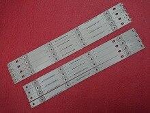 Novo 5 conjunto = 40 pçs led strip substituição para lg lc420due 42lb3910 innotek drt 3.0 42 polegada a b 6916l 1710a 1710b 1956e 1957a 1956b