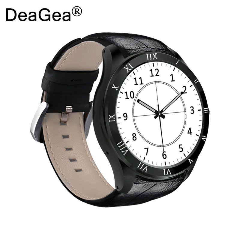 DeaGea Smart Watch Q5 Bluetooth Watch Phone Android 5.1 Support Heart Rate Monitor SIM TF Card 3G WiFi GPS Smartwatch PK KW88 fashion s1 smart watch phone fitness sports heart rate monitor support android 5 1 sim card wifi bluetooth gps camera smartwatch