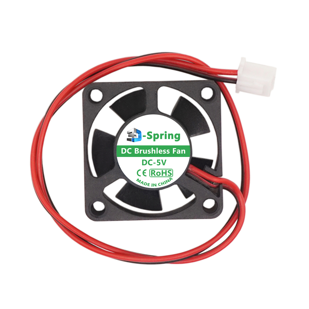 <font><b>30mm</b></font> <font><b>Fan</b></font> <font><b>5V</b></font> 12V 24V Dual Ball Bearing DC Brushless Quiet Cooling 3010 30x10mm for 3D Printer Extruder Hotend V6 V5 CPU Arduino image