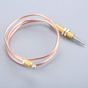 600mm BBQ M8x1 Universal Gas Thermocouple Head Thread For Outdoor Gas Heater 10pcs lot m8x1 head length 600mm and nuts 8mm universal thermocouple for gas water heater 600mm