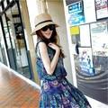 Moda del verano del estilo mujeres lindo pequeño sombrero mujeres recorrido sol sombrero envío gratis