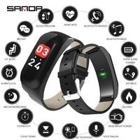 SANDA Bluetooth Music Smart Watch Smart Dial Phone Digital Watch Fitness Tracker Heart Rate Monitor Blood Pressure