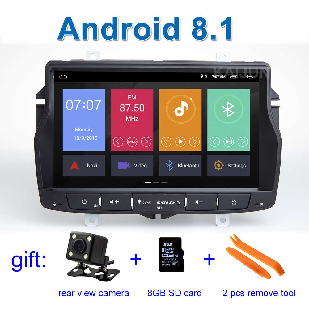 Android 8.1 Car DVD Stereo Player for Lada Vesta with wifi BT