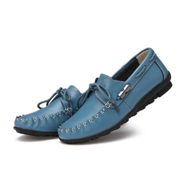 [C] 2017 Новый Зимний Ремень Женской Обуви Мягкое Дно нескользящей Обуви Горох Молодежи Натуральная Кожа. LLX-A-33