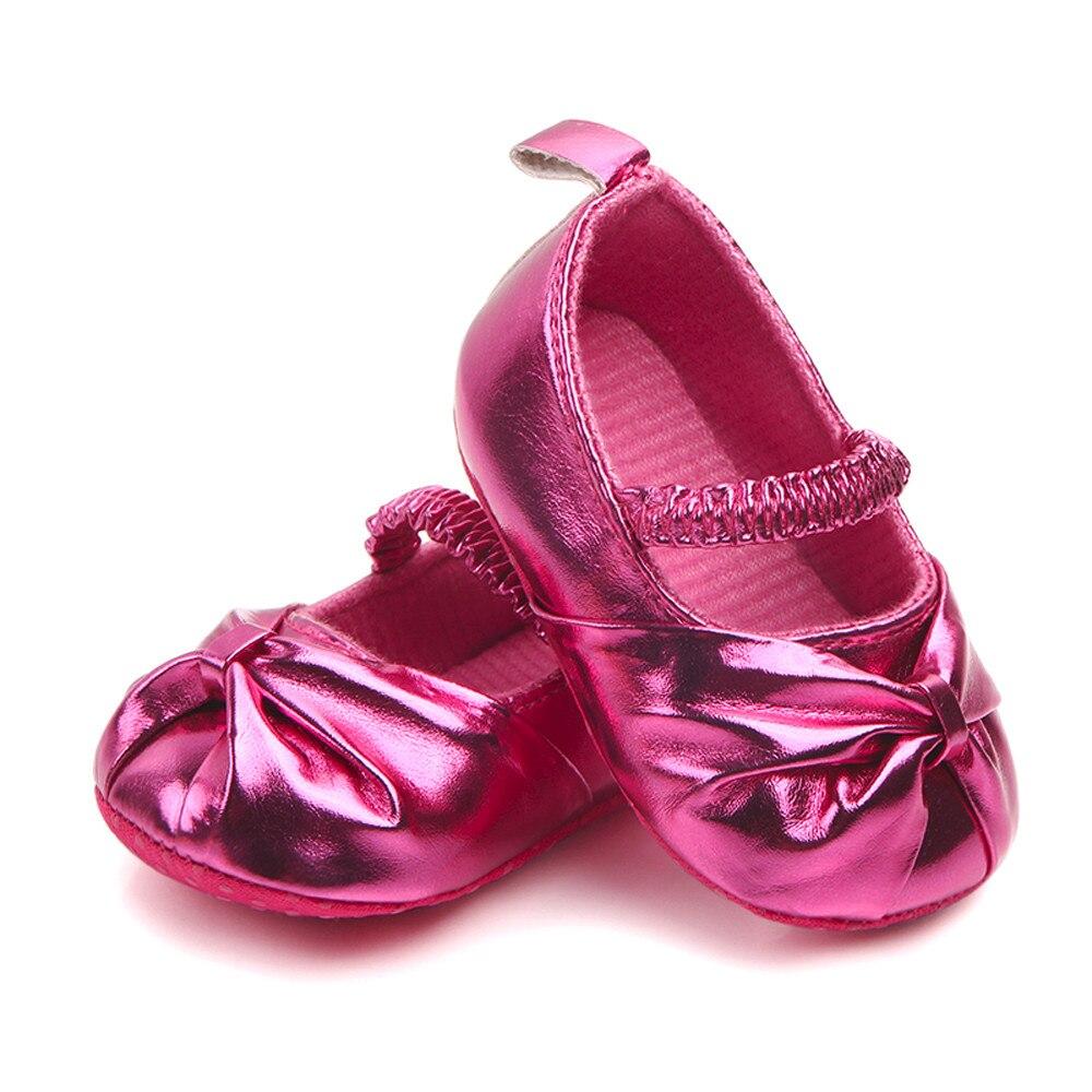 TELOTUNY Sneaker Soft-Shoes Bowknot Anti-Slip Childlren Newborn-Baby Girls Cotton Fashion