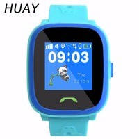 1PCS New GPS tracking watch for kids touch Screen swimming IP67 waterproof Smart SOS Call finder location children Watch HW8S