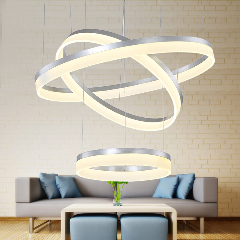 Modern led white color ring circle Acrylic LED chandelier foyer dinning room chandeliers cerchio anello lampadario hanging lampModern led white color ring circle Acrylic LED chandelier foyer dinning room chandeliers cerchio anello lampadario hanging lamp