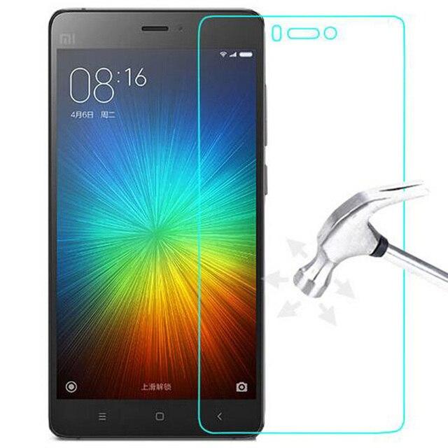 GerTong Tempered Glass for Xiaomi Redmi 4A 5A Note 3 6 Pro S2 4X 6A Screen Protector Protective Film for Xiaomi Mi5X MiA1 Mi8 SE
