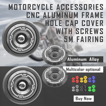 Aluminum accessories Motorcycle Engine side cover Oil cap screw Frame Hole Cover Cap For Kawasaki Z900 Z 900 2017 2018 цены