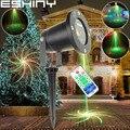 Eshini R & G дистанционный Открытый 16 больших узоров лазерный проектор Рождественский пейзаж клуб праздник DJ вечерние дерево Сад Наружный свети...