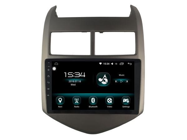 OTOJETA DSP stéréo carplay android 8.1.2 autoradio pour Chevrolet Aveo 2010 Gps navigation Ips écran lecteur vidéo magnétophone