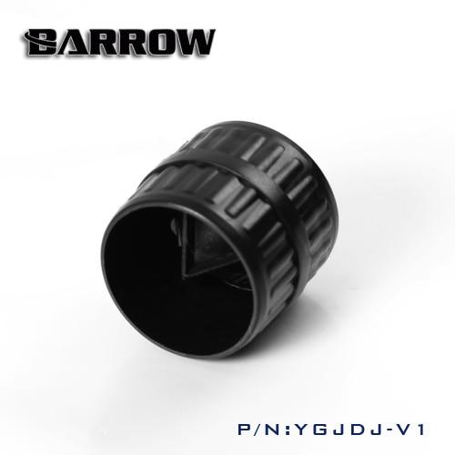 Barrow YGJDJ-V1, akrila / PETG cietās caurules cietā caurule, gludāka datora ūdens dzesēšanas sistēmas izmantošana