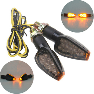 1PC Motorcycle Front&Rear Turn Signal Lights Steering lamp Super bright waterproof LED Steering light