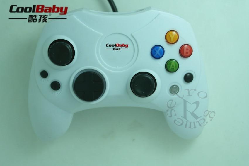 1 Pcs Classic Wired Joypad Controller For Microsoft Original Xbox ...