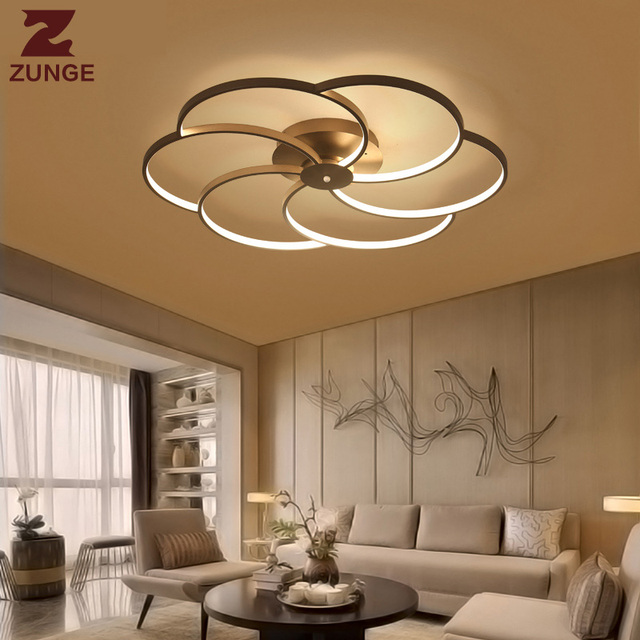 ZUNGE rgb LED lamp ceiling be discloses for bedroom living room lamps vespers all the time light P637 lamparas de techo.