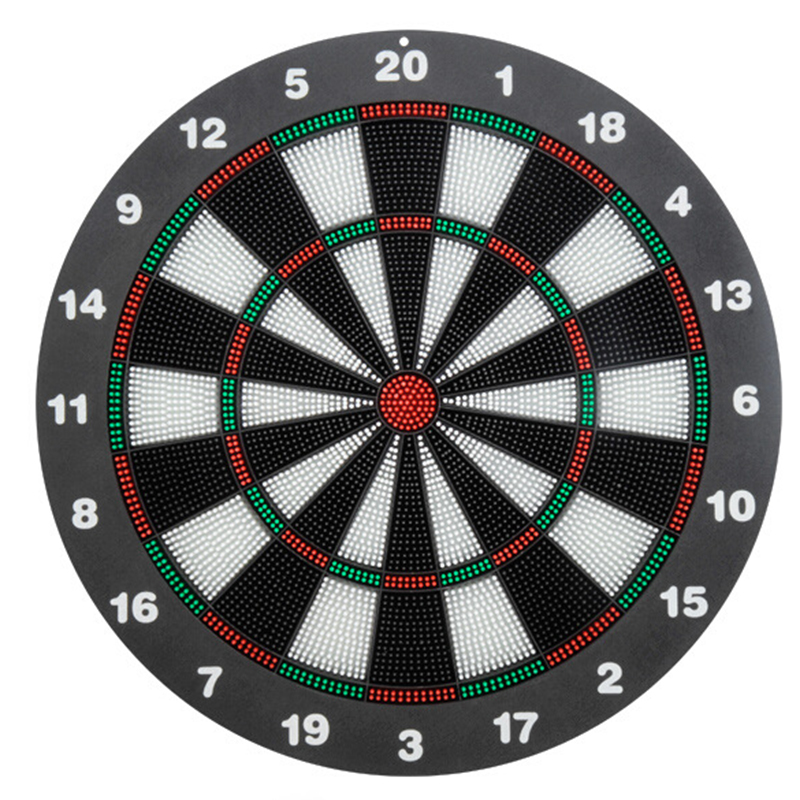 16 Inch Darts Board Security Soft Dart Board Dart Target Soft Head Flying Standard Set Fitness Belt With Six Pieces Copper Darts