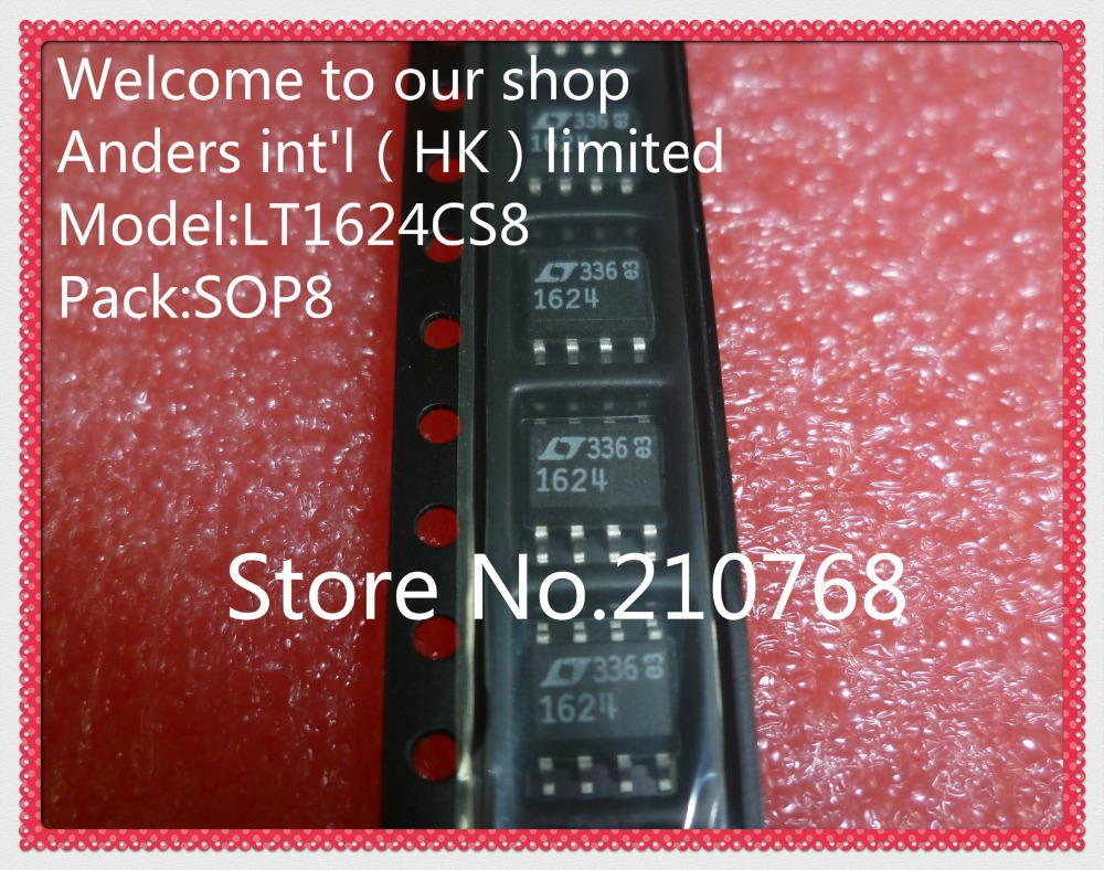 100 new original LT1624CS8 LT1624CS LT1624 1624 SOP8