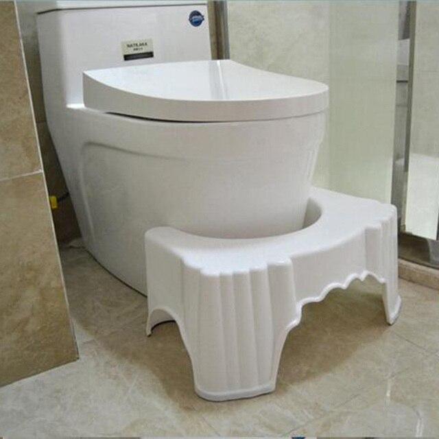 Semplice Toilette sgabello pad addensato bagno di plastica ...