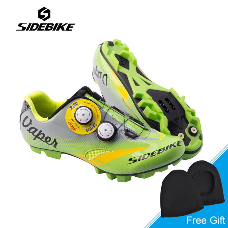 Sidebike Men Cycling Shoes Non-slip Breathable Bike Shoes MTB Bicycle Shoes Ultralight Auto-lock Shoes Zapatillas Ciclismo racmmer cycling gloves guantes ciclismo non slip breathable mens