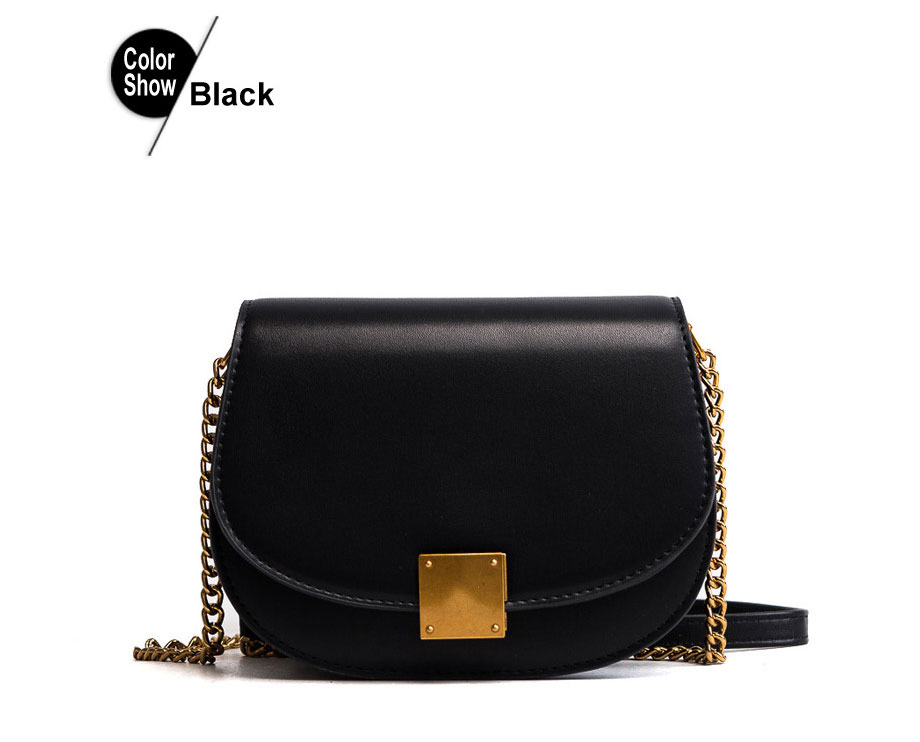 ebc3266e6a RoyaDong 2019 New Fashion Saddle Women Messenger Bag Design Candy Color  Chains Crossbody Bags For Girls Fashion Small Shoulder