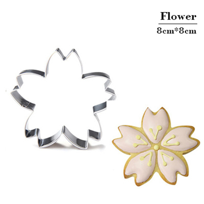 aluminum cookie cutter and biscuit cake fondant dessert decoration tools for kitchen