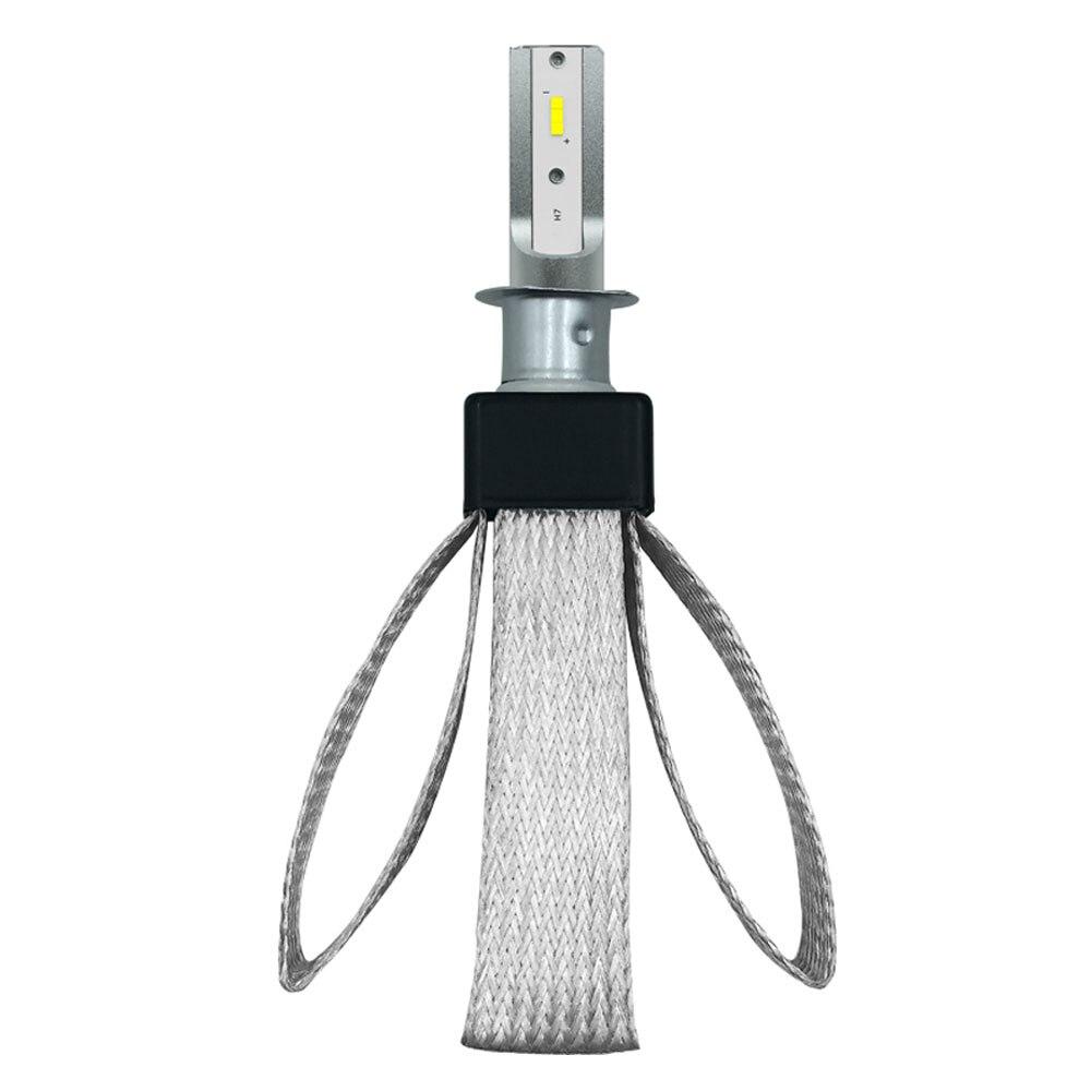 Vehemo светодиодный фар H1 DC12V 80 Вт 9600LM T8 6000 K сменный, декоративный, для автомобиля Автомобильный свет лампы автомобильные аксессуары