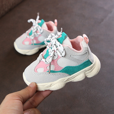 Baby Sport Shoes Autumn Winter New Fashion Breathable Baby  Boys Net Shoes Girls Anti-Slippery Sneakers Baby Toddler Shoes