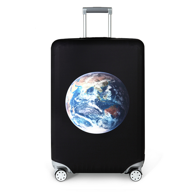JULY'S SONG Travel Protective Cover Suitcase Elastic Dust Cover Trolley Luggage Case for 18~32 inch Suitcase Travel Accessories