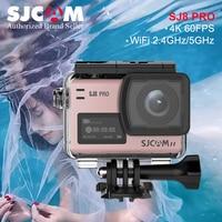 Новинка! SJCAM SJ8 Pro 4 К/60fps Экшн камера Ultra HD WiFi удаленного Управление действие видео Cam 8X цифровой зум Водонепроницаемый Спорт Камера