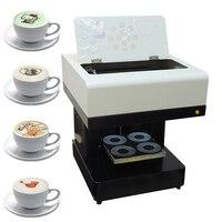Кофе принтер 4 чашки автоматический торт принтер шоколад Selfie Priter машина для кофейной печати для капучино печенья с Wifi