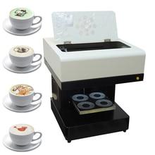 Кофе принтер 4 чашки автоматический торт шоколад Selfie Priter машина для кофейной печати для капучино печенье с wi fi