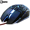 AOYEAH S8-FP Profesional Wired Gaming Mouse 7 Botones 3200 DPI LED Cable Óptico USB Ratón Gamer Ratones Para PC Laptop