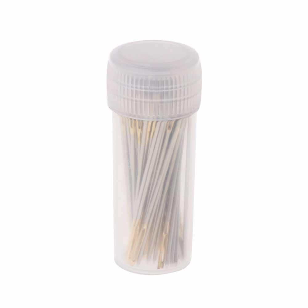 100 PCS Tail Embroidery Fabric Cross Stitch Needles Craft Tools Size 26 For 14CT   Hot  Sale