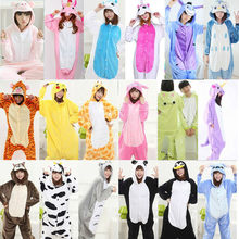 2018 единорог пижамы Onesie Kingurumi панда фланелевые пижамы кигуруми  женские зимние взрослые ночная рубашка стежка единорог 787ff7a42f81e