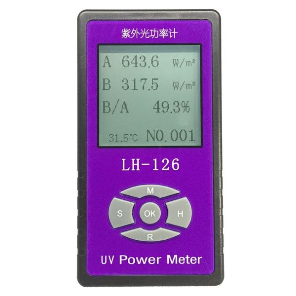 UV power Meter detector Handheld Glass Fabric glasses UV blocking rate Solar Films UV Light radiation strength tester  цены