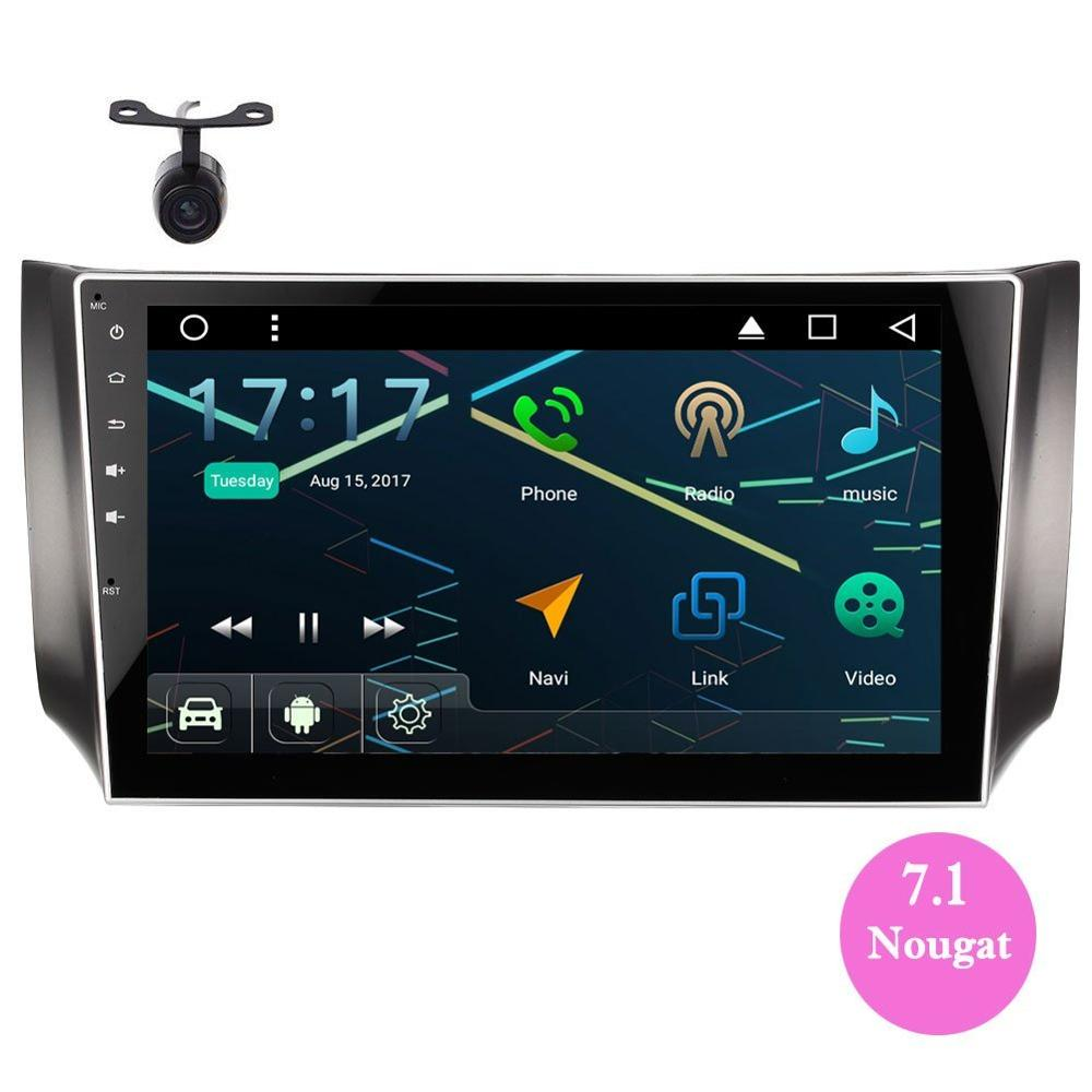 EinCar Double Din Car Stereo for 2016 2017 Nissan Sylphy Android 7 1 GPS FM AM