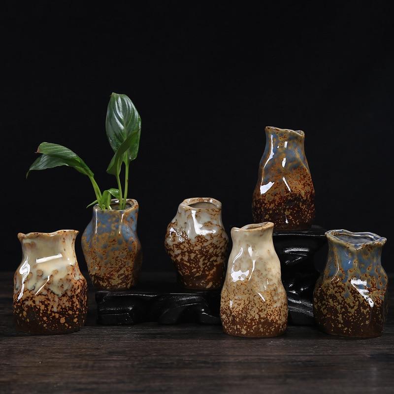 Fresh Mini Ceramic Small Vase Home Decor Gift Ideas And: Ceramic Personality Table Small Vase High Quality Creative