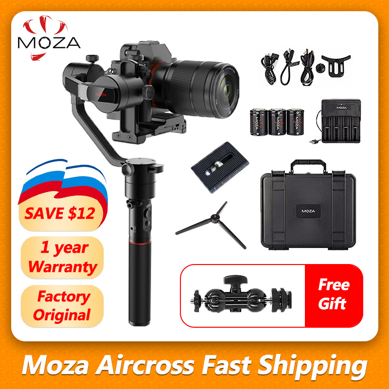 MOZA Aircross 3 Axis Handheld Gimbal Stabilizer Up to 1 8KG DSLR Mirrorless Camera S ony