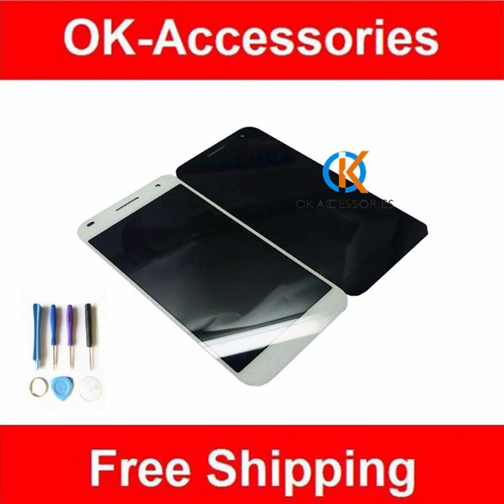 1 PC /Lot For Huawei Ascend G7 LCD Display+Touch Screen Digitizer Assembly With Tools Black Color