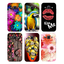 Coque For Samsung Galaxy ACE3 ACE 3 III S7270 7270 S7272 S7275 S7278 Case Floral Plants Unicorn Back Cover Flamingo Phone Case