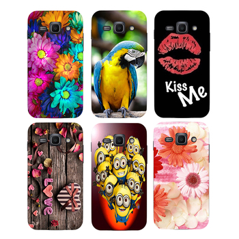 Coque For Samsung Galaxy ACE3 ACE 3 III S7270 7270 S7272 S7275 S7278 Case Floral Plants Unicorn Back Cover Flamingo Phone Case image