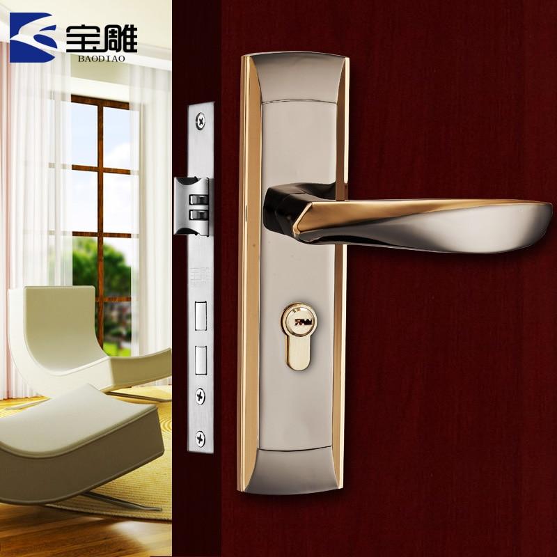 The new European style carved door locks treasure bedroom room door handle  interior wooden doorPopular Bedroom Door Handle Buy Cheap Bedroom Door Handle lots  . Bedroom Door Handles. Home Design Ideas