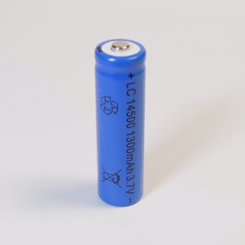 4X14500 battery 3.7V 1300mAh rechargeable li-ion battery Free shipping liion battery for Led flashlight batery