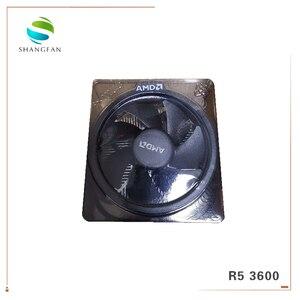 Image 5 - Neue Box AMD Ryzen 5 3600 R5 3600 3,6 GHz 6 Core 12 Gewinde CPU Prozessor 7NM 65W L3 = 32M 100 000000031 Buchse AM4 Mit kühler fan