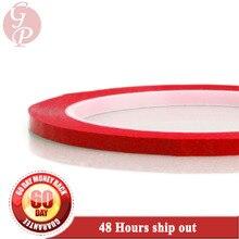 2 мм~ 5 мм на выбор* 66 м изоляционная майларовая лента, одиночная клейкая для силовой обмотка на катушке, красная